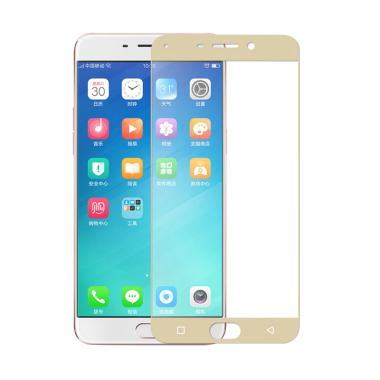 HMC Tempered Glass Full Screen Prot ... h [2.5D] + Free List Gold
