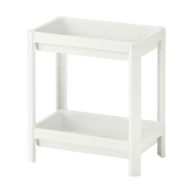 Ikea Vesken 2 Tingkat Shelf [23 x 40 cm/Max Load 13 kg]