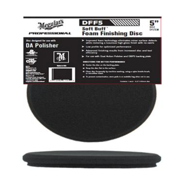 Meguiar's Soft Buff DA DFF5 Finishing Pad [5 Inch]