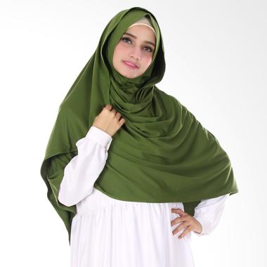 Nuhijab Shawl Kerudung Semi Instant - Green
