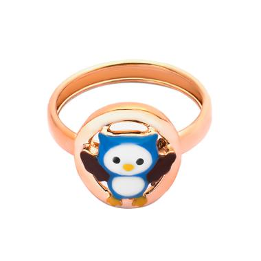 Owli Gold Kids Ring - Cincin Emas Anak Kadar 37,5-WHIZLIZ
