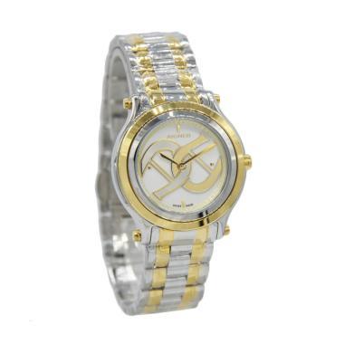 Aigner A55207 Bologna Jam Tangan Wanita - Silver Gold