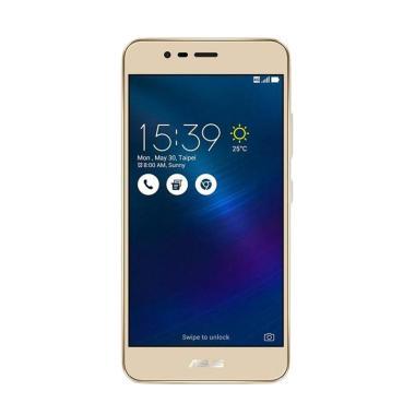 Asus Zenfone 3 Max ZC520TL Smartphone - Gold [32GB/3GB]