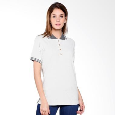 Land Rover Ladies Marl Polo Shirt - Grey