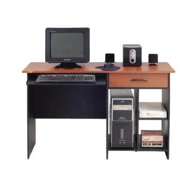 MD Furniture Meja Komputer [1 Laci dan Keyboard Tray 116]