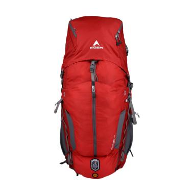 Eiger Excelsior Borneo Tas Ransel - Red Grey [75+15 L]