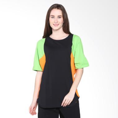 gaff_gaff-sophie-blouse-11407-1301-atasan-wanita---black-green-cream_full02 Hijab Di Shopee Terbaik plus dengan List Harganya untuk bulan ini