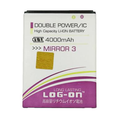 Log On Double Power Baterai for Oppo Joy 3 [4000 mAh]