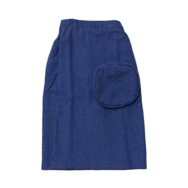 Mukena Dinda C 27 Sarung Celana Anak - Blue Jeans