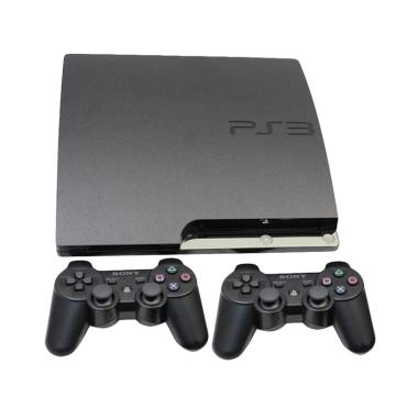 SONY ps3 slim CFW 4.82 HDD 160GB free full set full game [siap main]