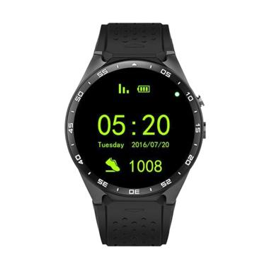 Cognos KW88 WiFi Smartwatch - Hitam [3G/ Android 5.1]