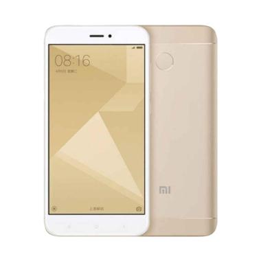 Xiaomi Redmi 4X Smartphone - Gold [RAM4GB/ROM64GB]