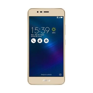 Asus ZenFone 3 Max ZC520TL Smartphone - Gold [16GB/ 2GB]
