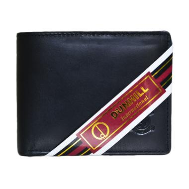 Dunhill 157 Kulit Dompet Pria - Hitam Pull Up