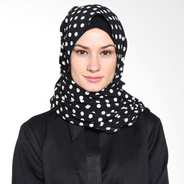 Tatuis Pashmina Damour 042 Pashmina Hijab  - Black