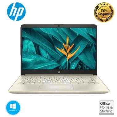 HP NOTEBOOK 14S-CF3035TX i3-1005G1 4GB 512GB WIN10+OHS GOLD