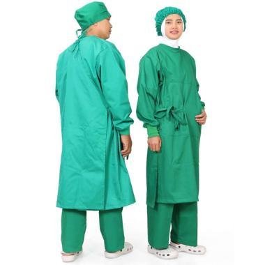 harga Surgical gown/ jas ok/ jas operasi/Baju operasi/Jubah Operasi/Seragam Operasi/APD/High Quality Blibli.com