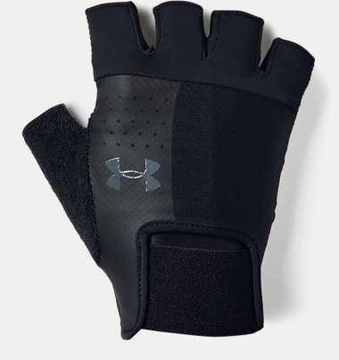 Under Armour Men's  Training Gloves-BLACK - BLACK - PITCH GRAY S