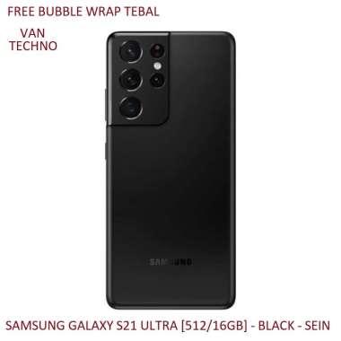 SAMSUNG GALAXY S21 ULTRA [512/16GB] - BLACK - SEIN