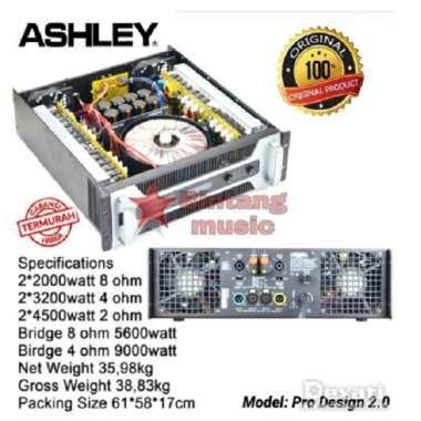 Power ASHLEY PRO DESIGN 2.0 Amplifier Class TD