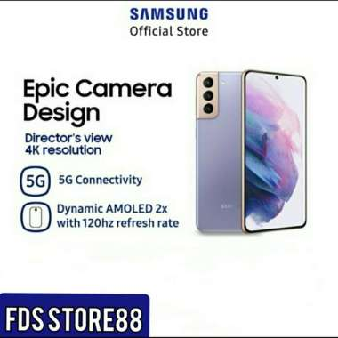 Samsung Galaxy S21 Plus S21+ 8GB/128GB 5G Garansi Resmi SEIN Phantom Violet