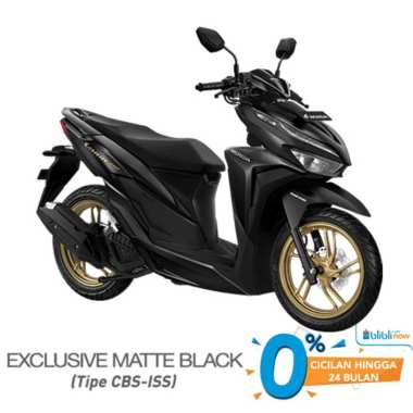 harga Honda VARIO 150 CBS ISS Smart Key Sepeda Motor [VIN 2021] Matte Black Samarinda Blibli.com