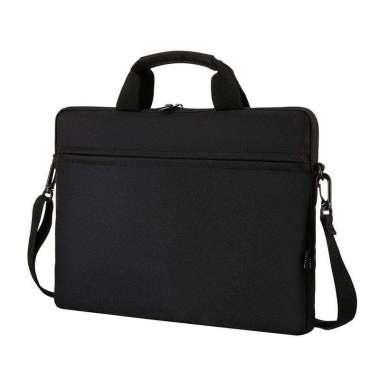 harga Softcase Tas Selempang Sleeve Case 13 /14 /15-15.6 inch Hitam Blibli.com