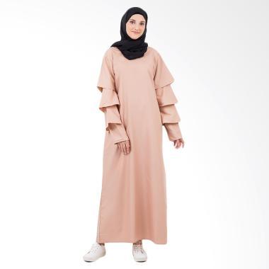 Covered Up CelIne Abaya In Gamis Wanita - Cream