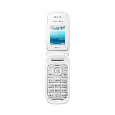 Samsung Caramel GT-E1272 Handphone - White [Dual Sim]