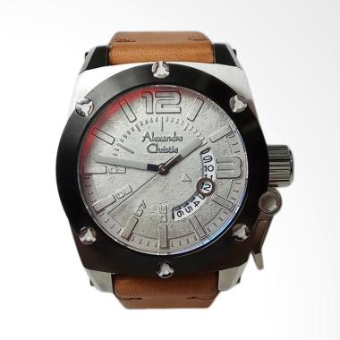Alexandre Christie Signature Stainl ... lver Red Brown [AC6456MD]