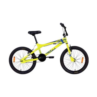United Jumper X-01 Sepeda BMX - Yellow [20 Inch]