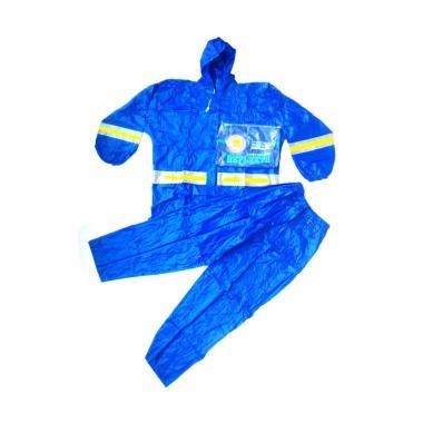 Gajah Reflekta Setelan Jas Hujan - Blue