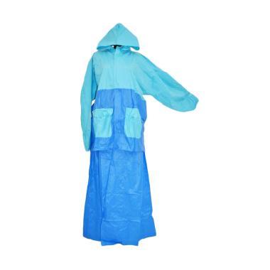 Gajah Jaket Rok Salsa Jas Hujan - Blue