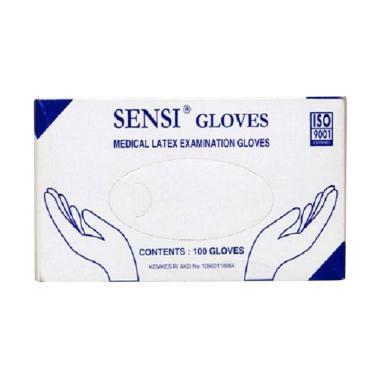 Sensi Gloves [Size XS/ Isi 100 Pcs (50 Pasang)]