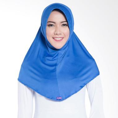 Elzatta Zaria M Rumana Jilbab Instant - Blue