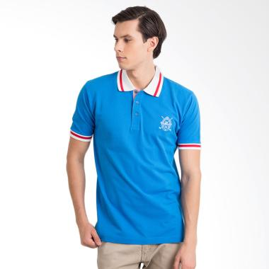 Labette Polo Shirt Pria -  Blue [102361811]