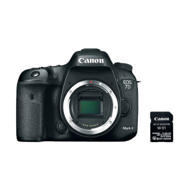 Canon EOS 7D Mark II BO Kamera DSLR with W-E1 Adaptor