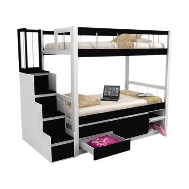 Funkids Delizio 01-100 TL Tempat Tidur Anak - Black