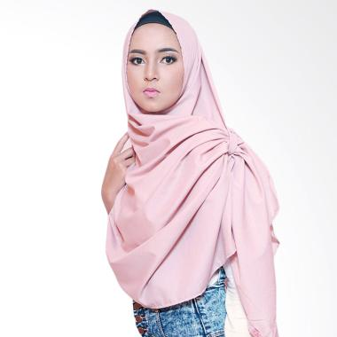 Quillavers Artemis Hijab Instant - Dusty Pink