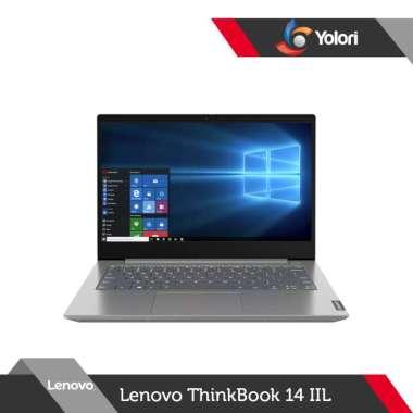 harga Lenovo ThinkBook 14-IIL i3-1005G1 8GB 256GB Intel UHD Windows 10 + OHS 2019 Blibli.com