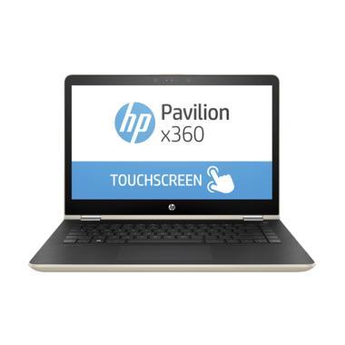 HP Pavilion X360 14-ba134TX Notebook - Gold