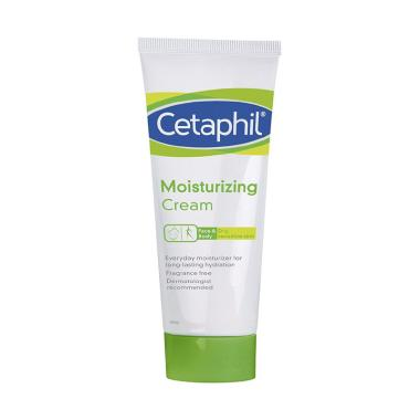 Cetaphil Moisturizing Cream Krim Pelembab Wajah dan Tubuh [100 g]
