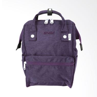 Anello AT-B2264 Polyester Tas Ransel Backpack Mini Size - Purple