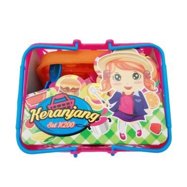 MGL Toys K 200 Keranjang Masak-Masakan Kitchen Set Mainan Anak