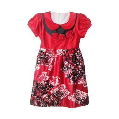TWO MIX 2159 Batik Mawar 3 Dress Anak