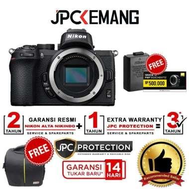 harga JPC KEMANG Nikon Z50 Body Nikon Z 50 Body Only Mirrorless Camera Free SDCard16GB+Nikon Bag+Smallrig Z50*+Tripod GARANSI RESMI Black Blibli.com