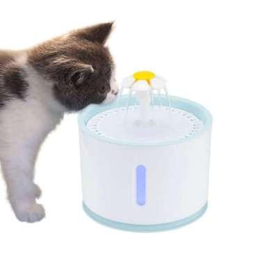 harga Promo ABEDOE Water Dispenser Air Mancur Tempat Minum Anjing Kucing 2.4L - Gray Murah Blibli.com