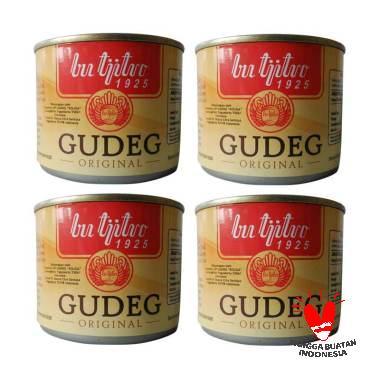 Gudeg Kaleng Butjitro Original Paket Hemat Makanan Kaleng