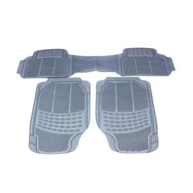 DURABLE Comfortable Universal PVC K ... ntom Coupe - Grey [3 Pcs]