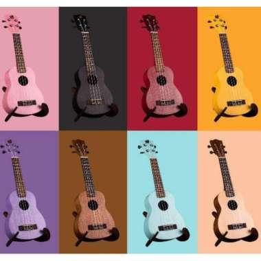 harga Ukulele Soprano MANDALIKA Warna Lengkap Bonus Tas, Senar, Pick alat musik UNGU Blibli.com